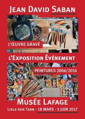 Exposition Musée Lafage - L'Isle sur tarn 2017